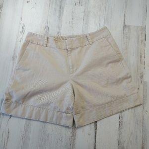 """🌿 Ralph Lauren Khaki Shorts 7"""" Inseam Size 10"""
